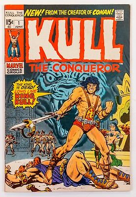 Kull the Conqueror #1 (1971 Marvel, 1st Series) 3rd App. and Origin! VF+