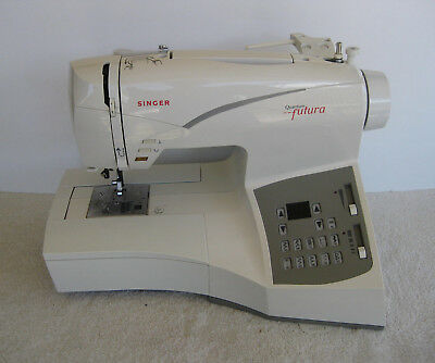 SINGER FUTURA COMPUTERIZED Sewing Embroidery Machine Designs Cool Singer Futura Ses1000 Embroidery Sewing Machine