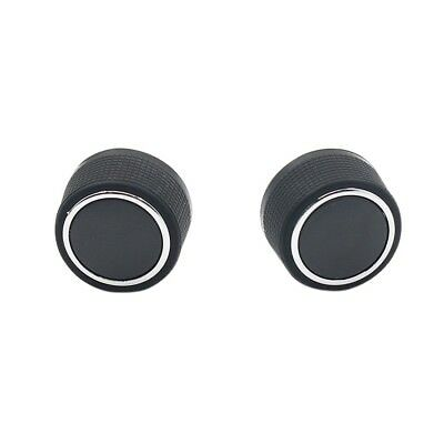 2 Pcs Replacement Rear Radio Audio Volume Control Knob for Chevrolet GMC GW
