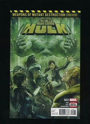 Totally Awesome Hulk #22 Marvel 10/2017 1St Full Appearance Weapon H *unpressed*