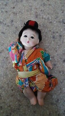 "Vintage Asian 8"" Doll"