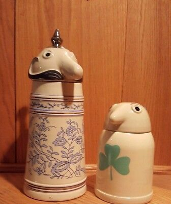 Schultz and Dooley Beer Steins- WEBCO-Made in Germany