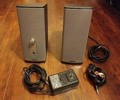 Bose Companion 2 Series II Computer Speakers sound bar W/ All the original parts