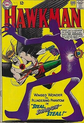 HAWKMAN #5 ... DC ... Dec 1964 - Jan 1965 ... VERY GOOD+