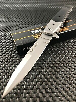 Stiletto Spring Assisted Open Tactical Tac Force Pocket Open Folding Knife