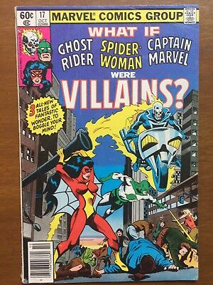 What If Ghost Rider Spider Woman Were Villains Comic 17 Marvel Comics
