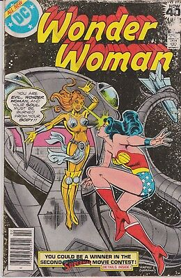 Wonder Woman #252 February 1979 DC Comics 1st App Astarte & Lady Lunar