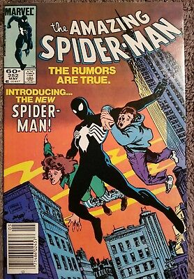 Amazing Spider-Man #252 (1984),  (VF/VF+),signed by Ron Frenz, 1st Black Suit