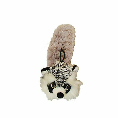 Multipet Bouncy Burrow Buddies Babies Raccoon Small Dog Toy, 8""