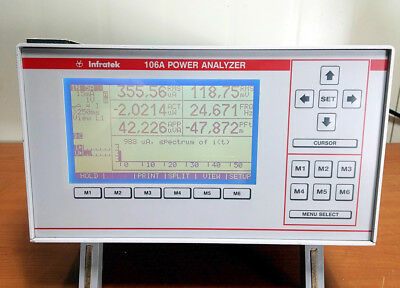 Infratek 106A Power Analyzer [#B1]