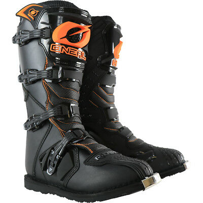 Oneal NEW 2019 Mx Rider Boot Dirt Bike Adult Black Orange Cheap Motocross Boots