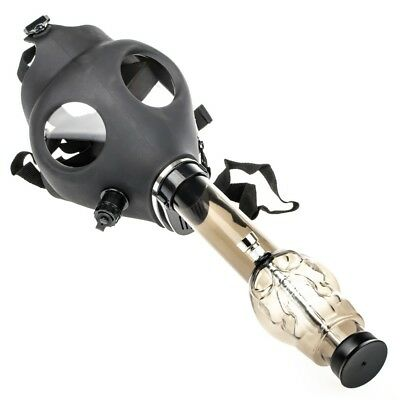 Silicone Gas Mask With Water Bong Hookah Use ( Color Random Ship )