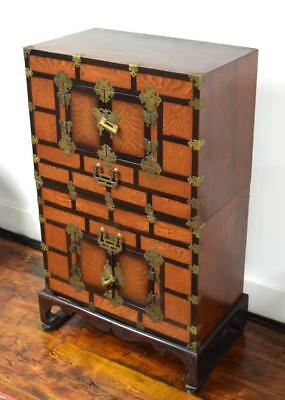 JAPANESE TANSU CHEST or CABINET: Lot 331
