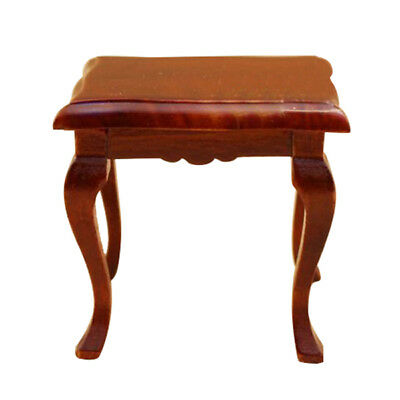 1/12 dollhouse miniature furniture traditional wooden table/desk G6V1