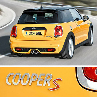 emblem embleme logo hinten mini cooper r50 r53 r56 r52 r57. Black Bedroom Furniture Sets. Home Design Ideas