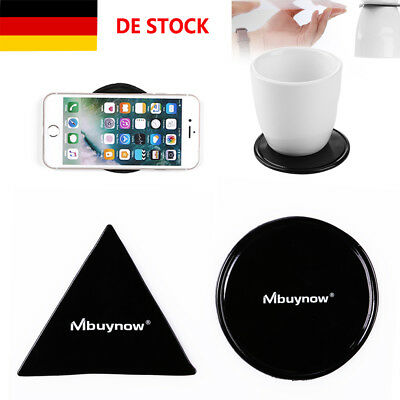 2 Fixate Cell Pads Anti-Rutsch GEL Pads Sticky Wand Phone Spiegel Aufkleber DE