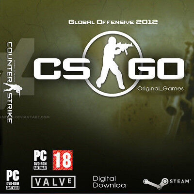 Counter Strike Global Offensive Steam Key ASIA/UAE/Australia