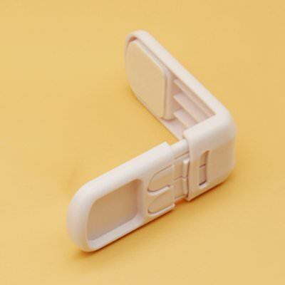 Right Angle Drawer Lock Multifunctional Children's Safety Lock Cupboard Buckle J