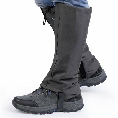 1 Pair Waterproof Outdoor Hiking Climbing Hunting Trekking Snow Gaiters ZJ
