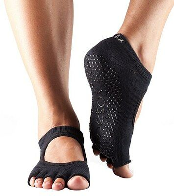 ToeSox Half Toe Bellarina Grip Socks in Duet