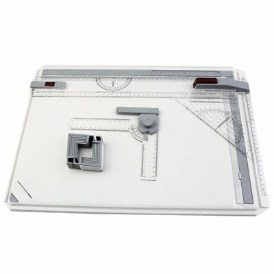 A3 Drawing Board Table with Parallel Motion Adjustable Angle Art Drawing Tools J