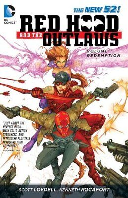 RED HOOD AND THE OUTLAWS New 52 Vol 1 REDEMPTION TPB 2012 Scott LOBDELL
