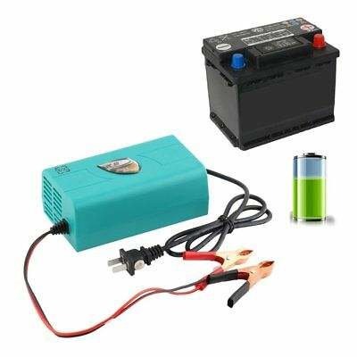 12V Battery Automatic Charger Motorcycle Car Boat Marine Maintainer Trickle ZJ