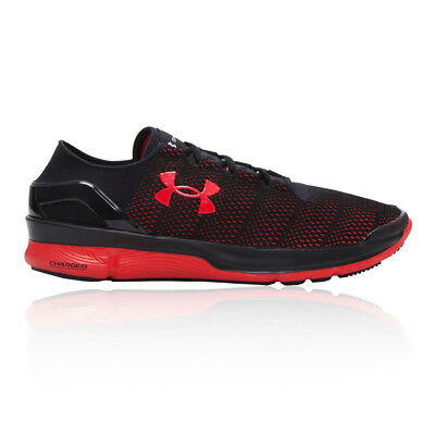 Under Armour Mens SpeedForm Turbulence Running Shoes Trainers Sneakers Black Red