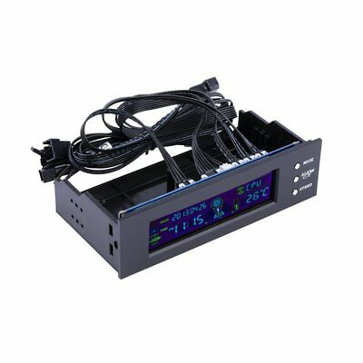 5.25 inch PC Fan Speed Controller Temperature Display LCD Front Panel ZJ