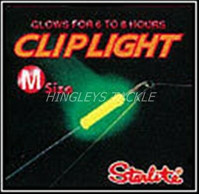 Ten x CLIP-ON ROD TIP Starlite night lights. MEDIUM.