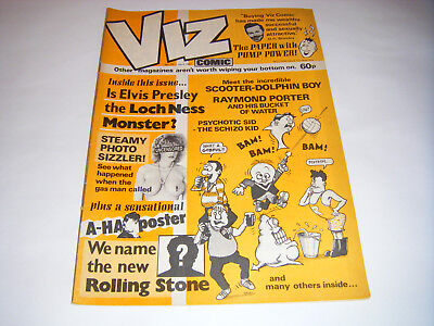 *RARE* Early VIZ COMIC ISSUE No 23 - (April 1987) UK Adult Humour