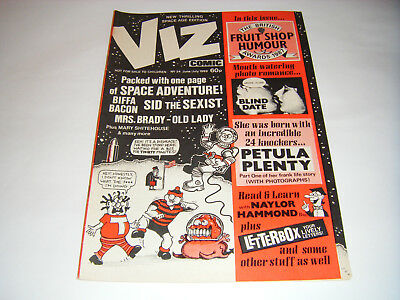 *RARE* Early VIZ COMIC ISSUE No 24 - (June/July 1987) Adult Humour Space Age