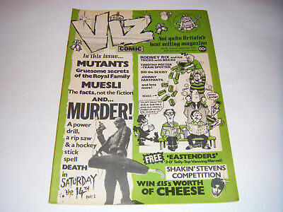 *RARE* Early VIZ COMIC ISSUE No 25 - (August/September 1987) UK Adult Humour
