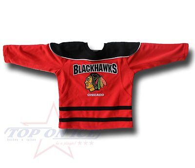 Maillot Enfants NHL CHICAGO NOIR HAWKS