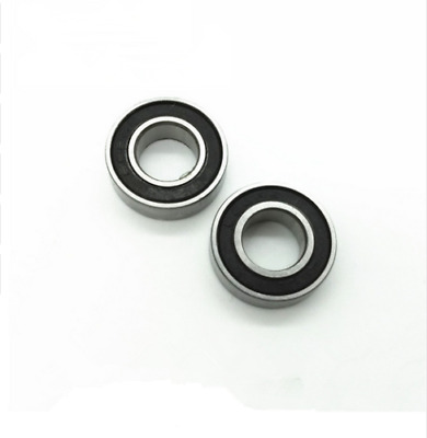 (10 PCS) MR105-2RS 5x10x4 Miniature Ball Bearings Black Rubber Sealed Bearing