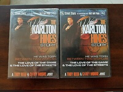 The Karlton Hines Story (Documentary) - 1 FACTORY SEALED & 1 OPEN BOTH NEW