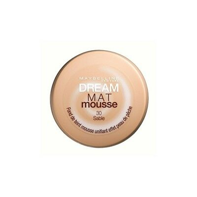 Gemey-Maybelline - Dream Mat Mousse - Fond de teint mousse - 30 sable - 18 ml