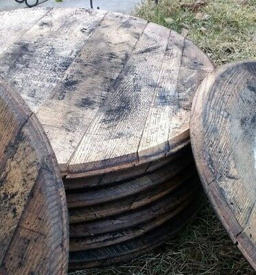 100% Authentic - BLANK - NOT STAMPED - Bourbon Whiskey Barrel Head/Top/Lid