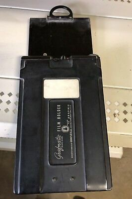 Grafmatic 45 Graphic Film Holder 4x5 With 6 Septums Graflex