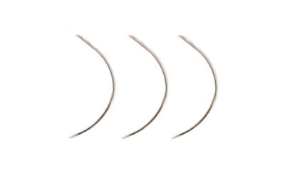 Professional Hair Extension Threading Weave Hook C Needles x 3 Uk Stock