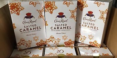 1 Crown Royal Salted Caramel Limited Edition Complete Collectors Unopened box