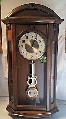 RHYTHM Global Timepiece Musical And Chime Wall Clock - CMJ520UR06 ~NEW IN BOX