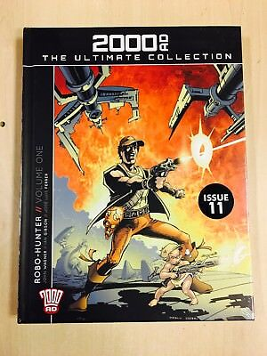 2000AD ULTIMATE GRAPHIC NOVEL COLLECTION - Issue 11 - Robo-Hunters Vol. 1