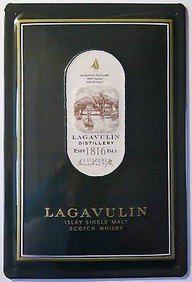 LAGAVULIN Islay Single Malt Scotch Whisky, BLECHSCHILD