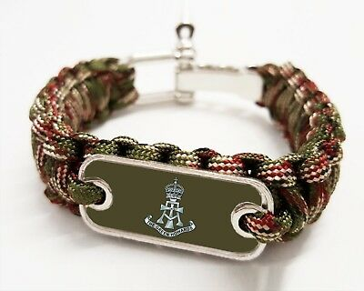 The Green Howards Paracord rope Bracelet