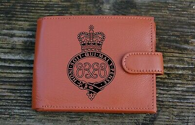 Grenadier Guards Men's  Leather Wallet complete with Gift Box