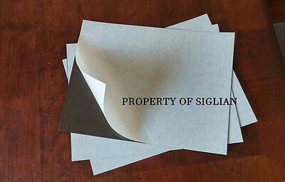 12 Self Adhesive Flexible Magnetic Sheets 12 x 9 inches