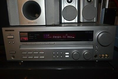 KENWOOD KRF-V6060D powerful amp receiver with quality Kenwood speakers & sub