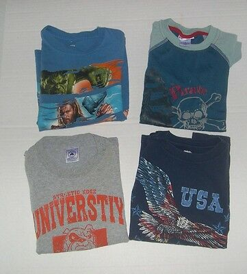 Lot of Four Short Sleeve Pullover Tops in Size Small