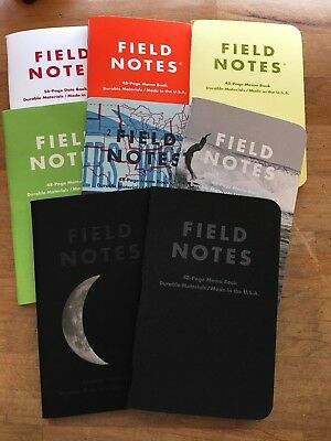 Field Notes Night Sky Lunacy 503 Two Rivers Nixon Sweet Tooth Singles FREE SHIP